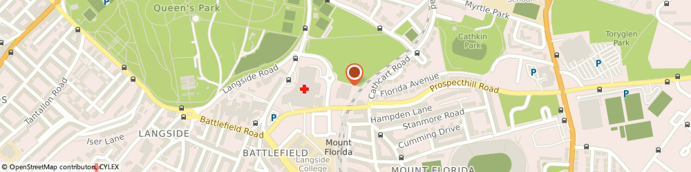 Route/map/directions to Glasgow Indoor Bowling Club, G42 9LQ Glasgow, 177 Prospecthill Rd