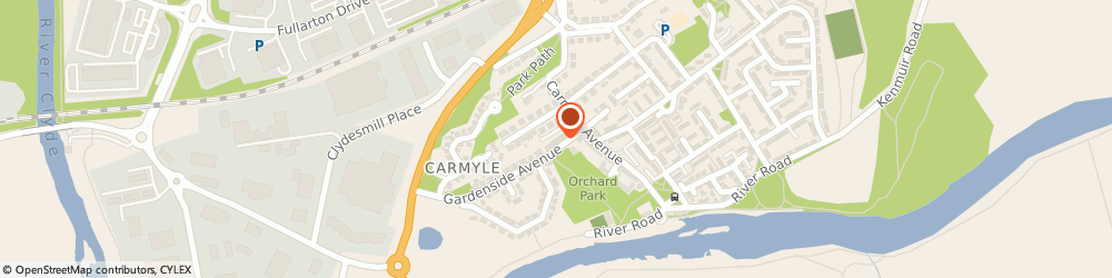 Route/map/directions to Post Office Limited, G32 8DR Glasgow, 2 Gardenside Avenue