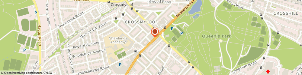Route/map/directions to Reardon's Snooker and Pool - Southside, G41 3EB Glasgow, 1060-1078 Pollokshaws Rd