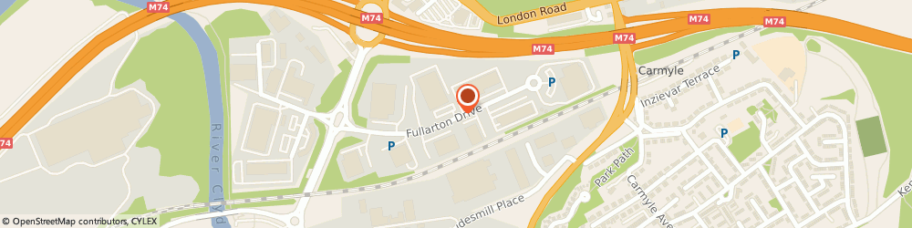 Route/map/directions to SP Energy Networks, G32 8FA Glasgow East Investment Park, 55 Fullarton Drive