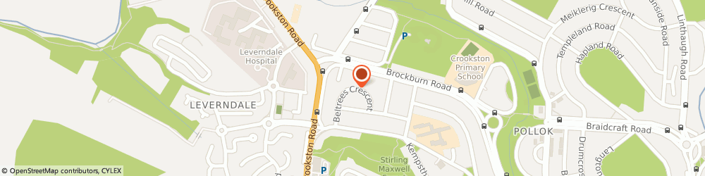 Route/map/directions to Gar Watercooler Services Ltd., G53 5TH Glasgow, 25 Beltrees Crescent