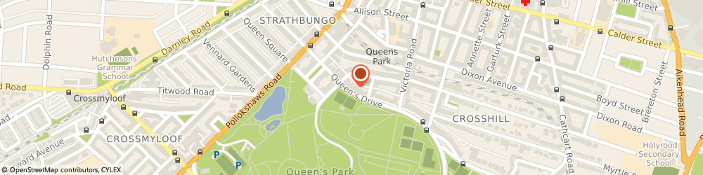 Route/map/directions to Northedge Design, G42 8QN Glasgow, 158 QUEENS DRIVE