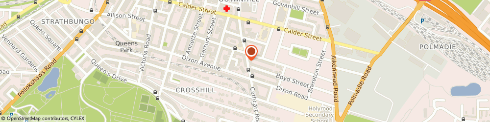 Route/map/directions to Dot Design, G42 8AA Glasgow, 638 Cathcart Rd