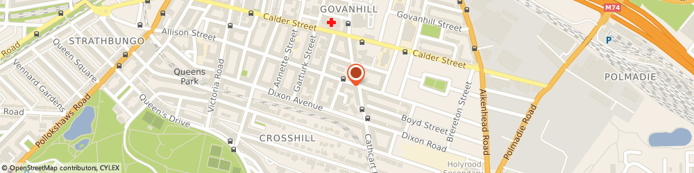Route/map/directions to Allied Bank of Pakistan, G42 8HN Glasgow, 344-348 ALLISON STREET
