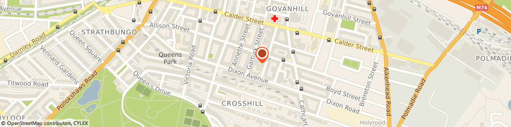 Route/map/directions to Choice Furniture, G42 8JG Glasgow, 37 Garturk St