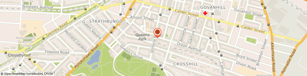 Route/map/directions to SUPERDRUG - Glasgow, G42 8PE Glasgow, 474 Victoria Road