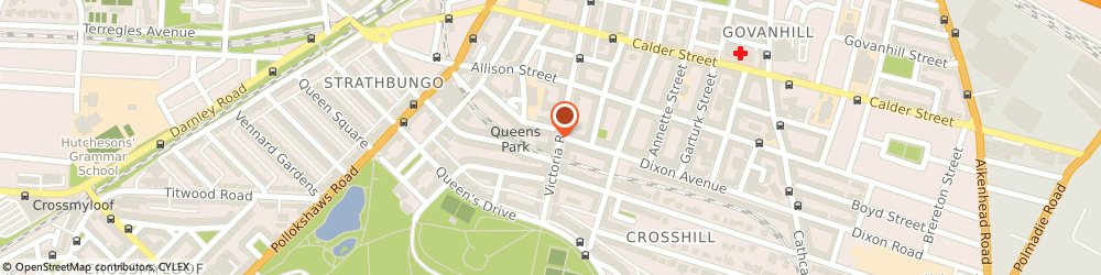 Route/map/directions to Bank of Scotland, G42 8PB Glasgow, 464 Victoria Road