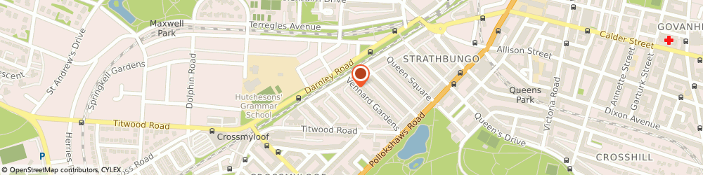 Route/map/directions to Neil Wells Indexing, G41 2DB Glasgow, 65 Vennard Gardens