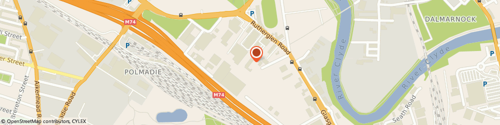 Route/map/directions to H Meanen Electrical Services Ltd, G73 1SX Glasgow, 1 Rutherglen Rd
