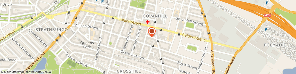 Route/map/directions to Shad Tours, G42 8JR Glasgow, 6 Bankhall Street