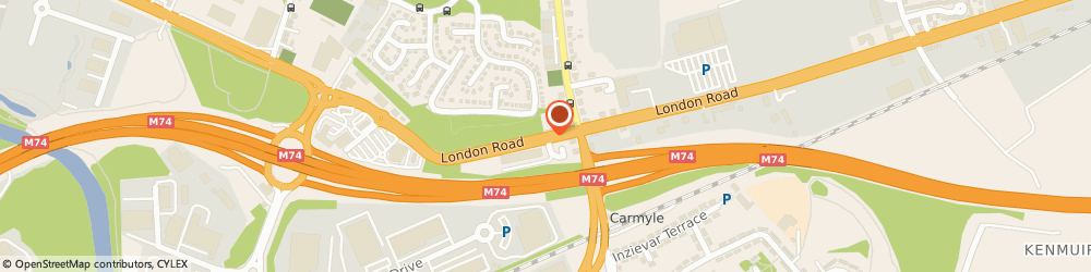 Route/map/directions to DFS Furniture, G32 8NS Glasgow, London Road