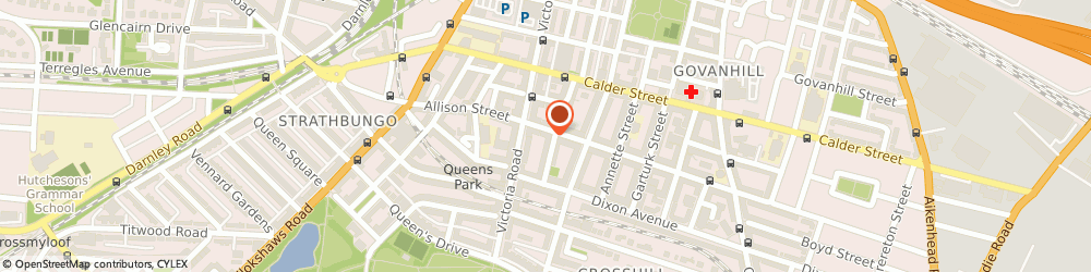 Route/map/directions to M & H Xpress Solutions Ltd, G42 8RP Glasgow, 160 ALLISON STREET