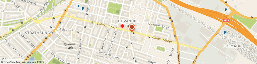 Route/map/directions to Travel and Co Glasgow Ltd, G42 8YG Glasgow, 520 CATHCART ROAD