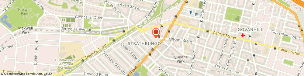 Route/map/directions to Deejays Snooker Club, G41 2PY Glasgow, 17A Nithsdale Street