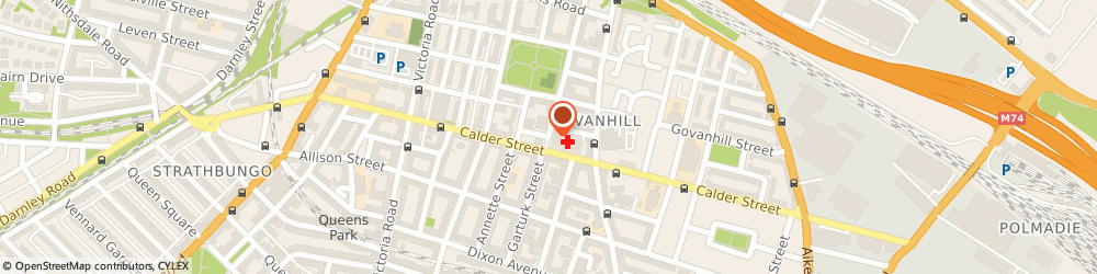 Route/map/directions to Vanity Valet, G42 7PZ Glasgow, 103 Inglefield Street