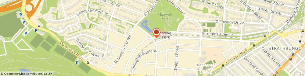 Route/map/directions to Optimus Driver Training, G41 Glasgow, Springkell Avenue