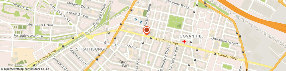 Route/map/directions to Riley Snooker Club, G42 7RP Glasgow, 334 VICTORIA ROAD