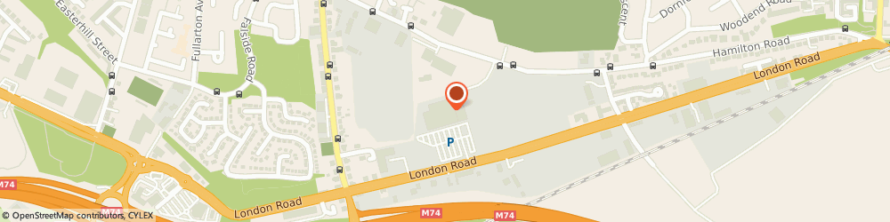 Route/map/directions to The Range, G32 8XP Glasgow, 2345, London Road