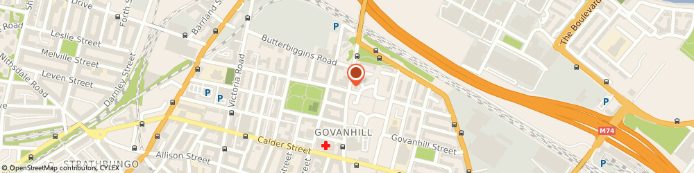 Route/map/directions to Cash Control Equipment Ltd., G42 7DF Glasgow, 390 Cathcart Road