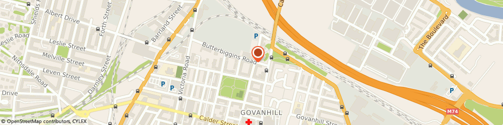 Route/map/directions to Govanhill Youth Project, G42 7AL Glasgow, 172 BUTTERBIGGINS ROAD