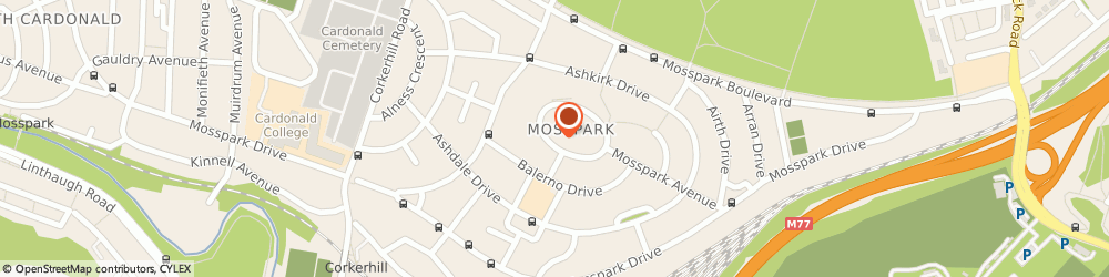 Route/map/directions to Jpm Design Services Limited, G52 1LE Glasgow, 84 Mosspark Oval