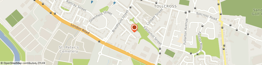 Route/map/directions to Ga Electrical & Plumbing, G32 8PX Glasgow, 49 BRAIDFAULD GARDENS