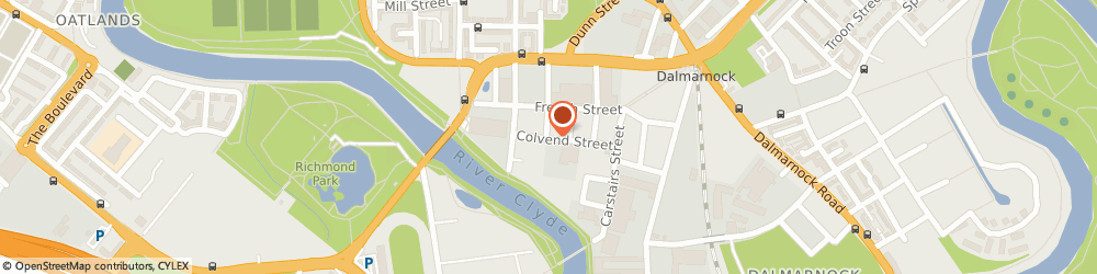 Route/map/directions to Moon Sign Services, G40 4DU Glasgow, Unit 12A, Colvend St