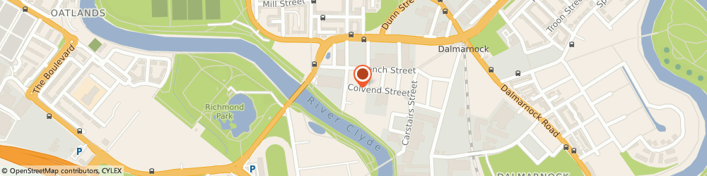 Route/map/directions to Interprint, G40 4DU Glasgow, 95 Colvend Street