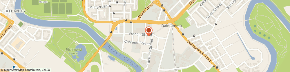 Route/map/directions to Canstock Ltd, G40 4EH Glasgow, 171 FRENCH STREET
