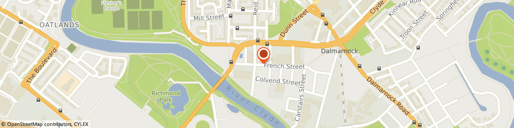 Route/map/directions to Duck To Water, G40 4EH Glasgow, 61 French St