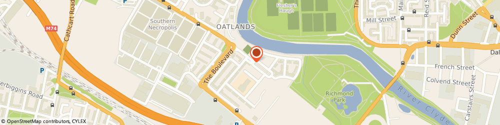 Route/map/directions to Wood Burning Stoves Glasgow, G5 0HP Glasgow, 9 Oatlands Square