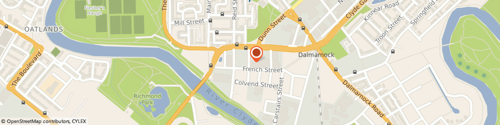 Route/map/directions to Copies Digital Bureau, G40 4EH Glasgow, 51 French St