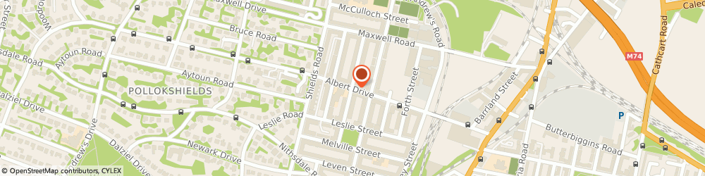 Route/map/directions to Clydesdale Bank PLC, G41 2NB Glasgow, 221 ALBERT DRIVE