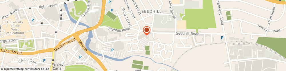 Route/map/directions to Abbey Mill Business Centre, PA1 1JS Paisley, Abbeymill Business Centre, 12 Seedhill Road