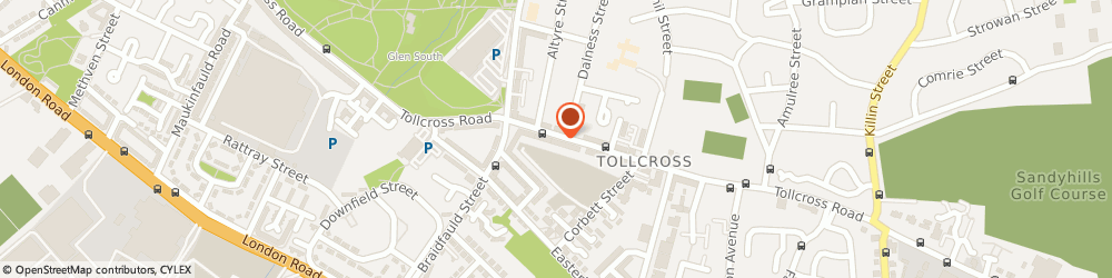 Route/map/directions to MARLENE'S FLOWERS LIMITED, G32 8UW Glasgow, 1006 Tollcross Road
