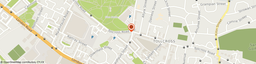 Route/map/directions to Clydegrove Financial Consultants, G32 8PE Glasgow, 910 TOLLCROSS ROAD