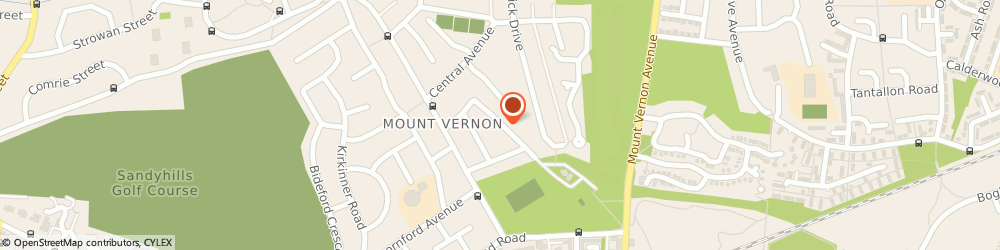Route/map/directions to Mount Vernon Community Hall, G32 9LE Glasgow, KENMUIR AVENUE