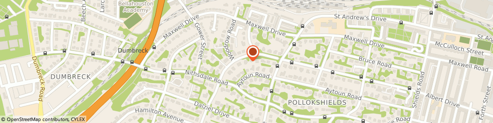 Route/map/directions to Albert Apartment, G41 5PH Glasgow, 361A Albert Dr
