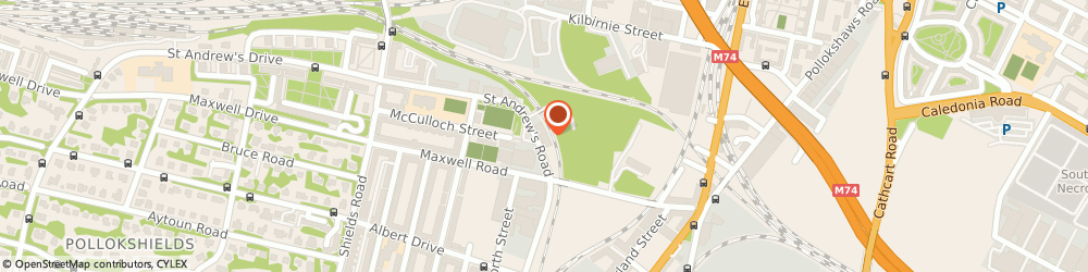 Route/map/directions to Splash Autocare, G41 1PF Glasgow, 32 St Andrews Rd