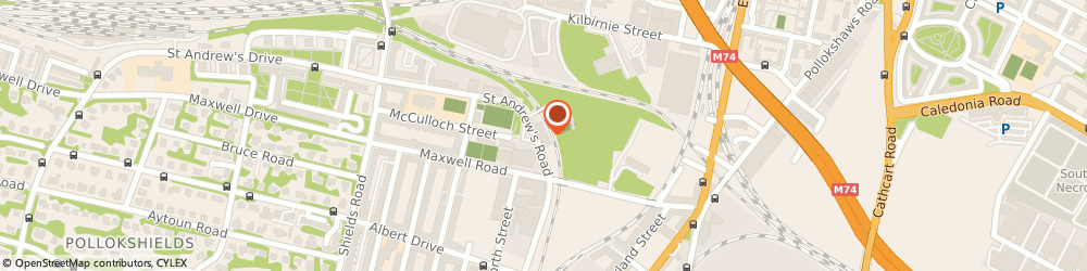 Route/map/directions to Car Buyer Scotland, G41 1PF Glasgow, 32 St Andrews Rd