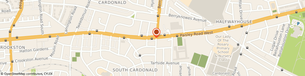 Route/map/directions to BrightHouse Cardonald, G52 3TW Glasgow, 1846 Paisley Road West