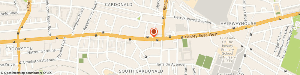 Route/map/directions to Quo Vadis, G52 3TN Glasgow, 1860 Paisley Road West