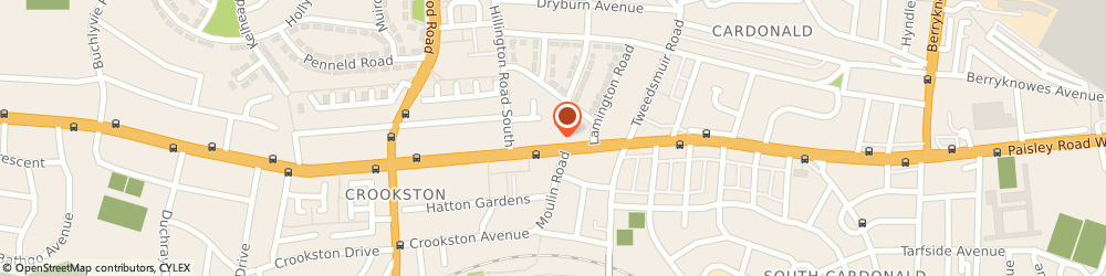 Route/map/directions to Argosy Lounge Bar, G52 3SJ Glasgow, 2202 Paisley Road West