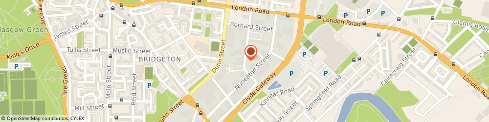 Route/map/directions to Railway Engineering Associates Ltd, G40 3QF Glasgow, 125 Boden St