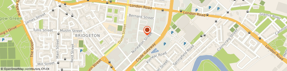 Route/map/directions to CLM Roofing Ltd, G40 3DQ Glasgow, 16 Arrol Road