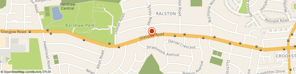 Route/map/directions to Strathclyde Tree Surgeons, PA1 3DP Paisley, 298 Glasgow Rd