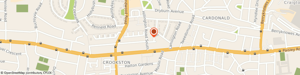 Route/map/directions to 50/50 CARS LTD, G52 2AA Glasgow, 56 Hillington Rd S