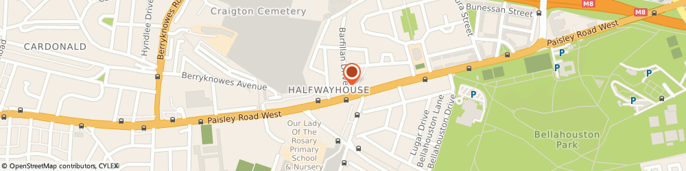Route/map/directions to Rm Skills Centre Ltd, G52 1BD Glasgow, 7 Barfillan Dr