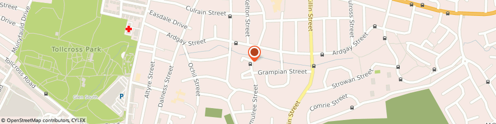 Route/map/directions to Sandyhills Bowling Club, G32 7SJ Glasgow, 299 AMULREE STREET