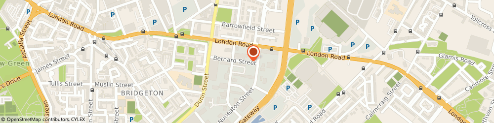 Route/map/directions to TRAD Hire & Sales, G40 3NX Glasgow, 244 Bernard Street